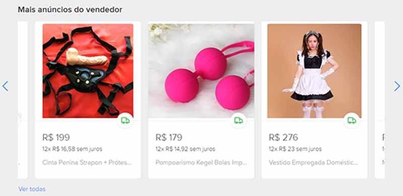 produtos de sex shop no mercado livre